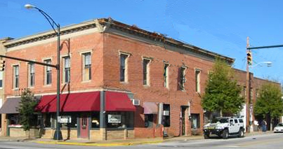 Professional Office or Work-Live Unit 100 North Main Street Fountain Inn, South Carolina